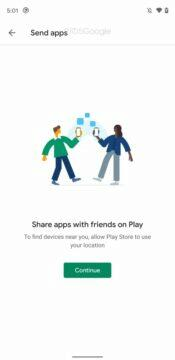 google play sdileni aplikaci