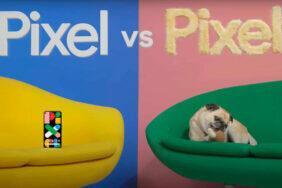 Google srovnává Pixel se psem