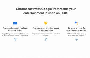 google streamovací zařízení