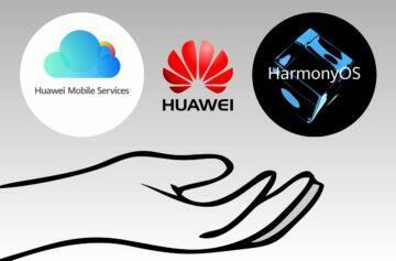 HarmonyOS a HMS pro další výrobce zpětná podpora HarmonyOS starší Huawei mobily