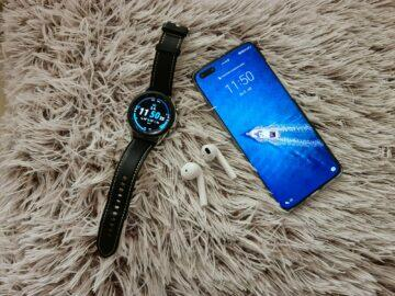 Samsung Galaxy Watch3 hodinky telefon sluchátka top