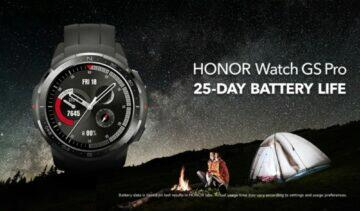 Honor Watch GS Pro baterie