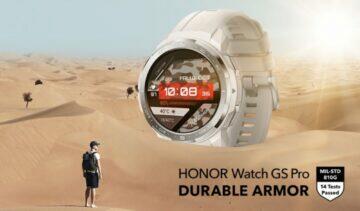 Honor Watch GS Pro odolnost certifikáty