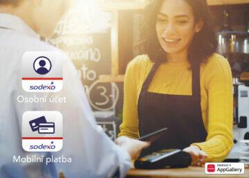 Huawei ČR NFC platby Sodexo