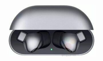 Huawei FreeBuds Pro únik šedá v pouzdře