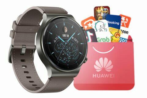 Huawei hodinky instalace aplikací