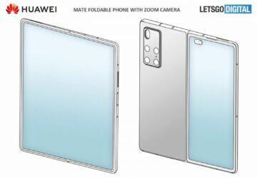 Huawei Mate X2 patent rozevřený