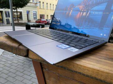 Huawei MateBook X Pro 2020 klávesnice
