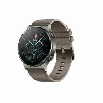 Huawei Watch GT 2 Pro classic šedá šikmý