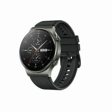 Huawei Watch GT 2 Pro sport černá šikmý