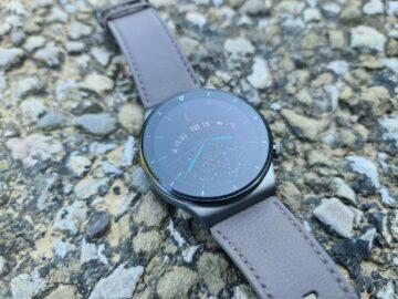 Huawei Watch GT2 Pro asfalt tělo