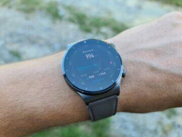 Huawei Watch GT2 Pro funkce barometr