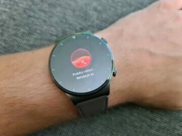 Huawei Watch GT2 Pro funkce měření okysličení krve