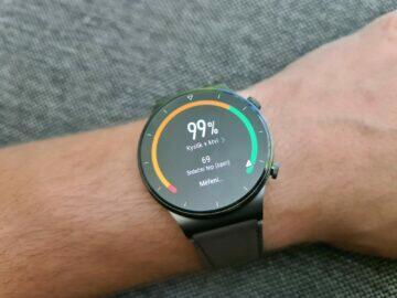 Huawei Watch GT2 Pro funkce okysličení krve výsledek