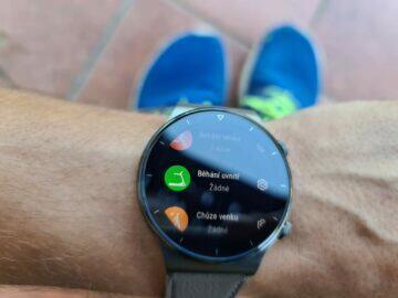 Huawei Watch GT2 Pro funkce sport běh