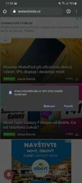 Jak sledovat Svět Androida Push notifikace dotaz