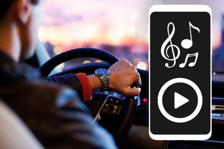 Jak v autě pouštět hudbu z mobilu