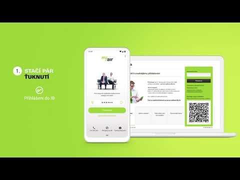 Jednoduché přihlášení do internetového bankovnictví přes QR kód