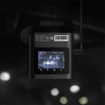 kamera Mi Dashcam 2 Standard Edition displej