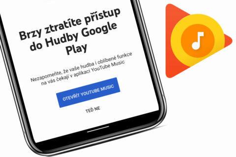 konec google play music