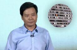 Lei Jun ukázal mobily v Xiaomi Lab