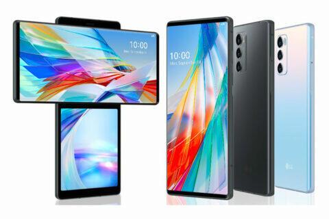 LG nový telefon
