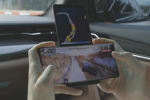 lg wing na videu