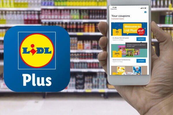 Lidl představil digitální kartu Lidl Plus