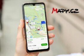 Mapy.cz alternativní trasy