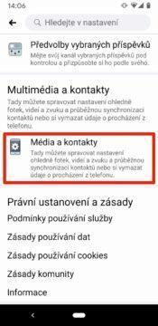 media a kontakty