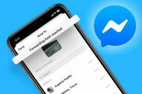 Messenger limit přeposílání