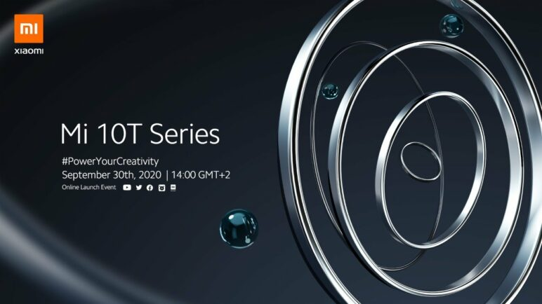 Mi 10T Series Online Launch Event