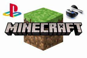 minecraft playstation VR