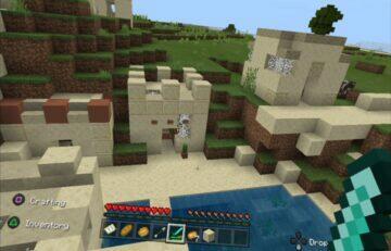 minecraft vr ovladani