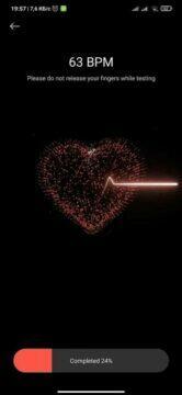 miui 12 srdeční tep