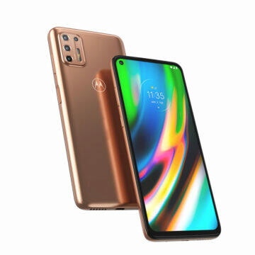 Moto G9 Plus design