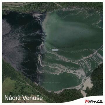 nádrž Venuše nový snímek