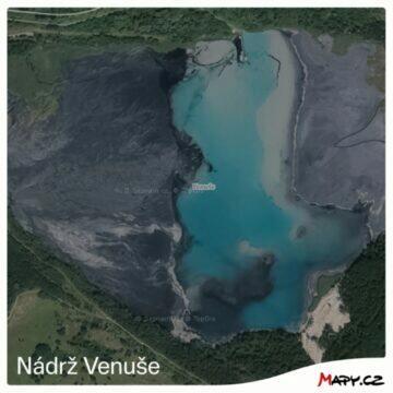 nádrž Venuše starý snímek
