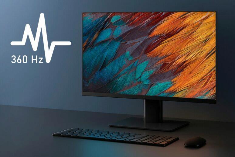 nový Xiaomi 360Hz herní monitor