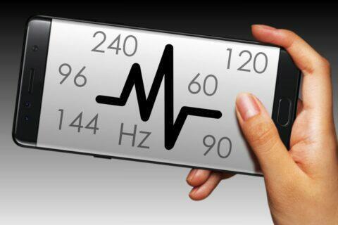 obnovovací snímkovací frekvence displeje fps hz průvodce
