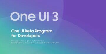 one ui 3.0 developer beta s20