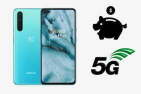 oneplus nord 5G cena