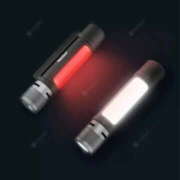 Elegantní bezdrátový reproduktor Leehur Outdoorová baterka NexTool s alarmem boční světlo