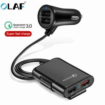 Praktická USB nabíječka a prodlužka do auta OLAF
