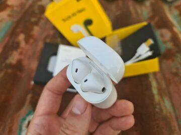 Realme Buds Air Neo balení detail