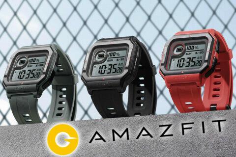retro hodinky amazfit neo