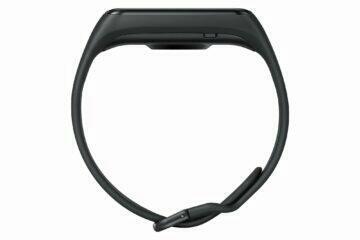 Samsung Galaxy Fit2 černá profil
