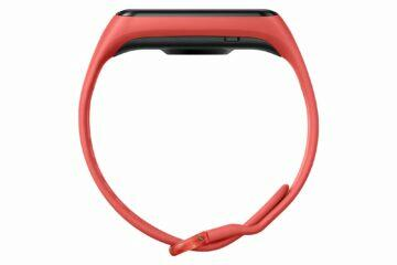 Samsung Galaxy Fit2 šarlatová profil