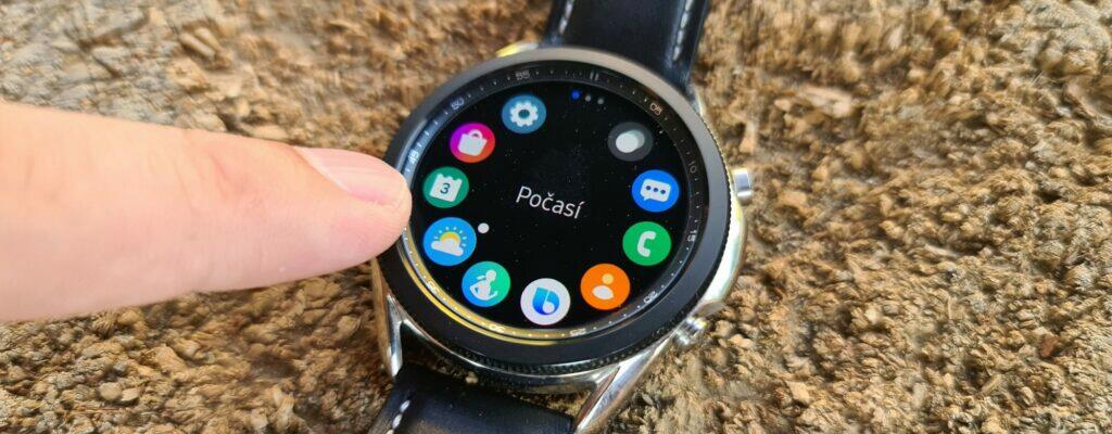 Samsung Galaxy Watch3 otočná luneta