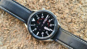 Samsung Galaxy Watch3 špalek chromový ciferník